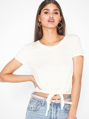 Only ONLARLI S/S KNOT TOP JRS NOOS