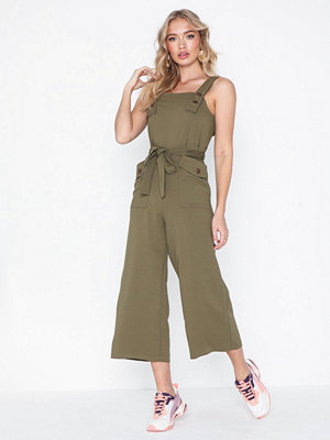 Topshop Pini Button Jumpsuit
