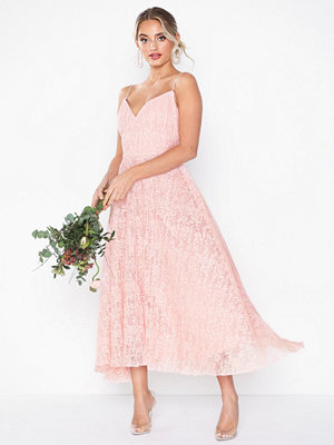 Forever Unique Maxi Strappy Lace Dress