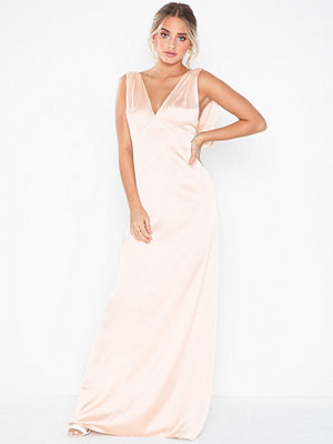 NLY Eve Draped Deep Back Gown