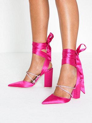 Pumps & klackskor - NLY Shoes Rhinestone Wrap Pump