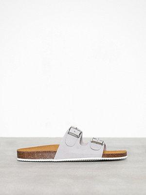 Tofflor - Pieces Psliina Suede Sandal