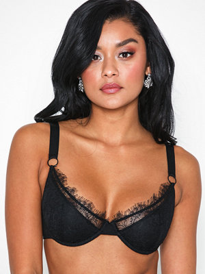 NLY Lingerie Satin Touched Bra