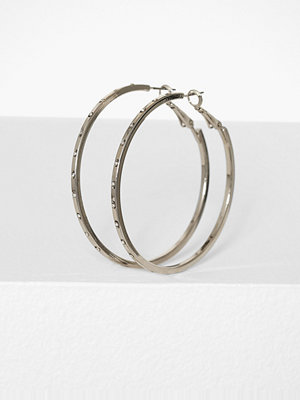 Missguided Jewelry örhängen Diamante Stud Hoop Earrings