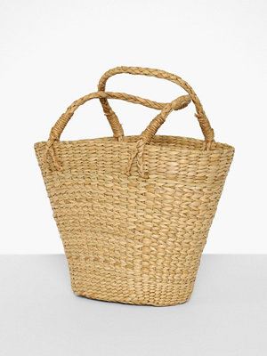 Handväskor - Only Onlsinghi Straw Beach Shopper