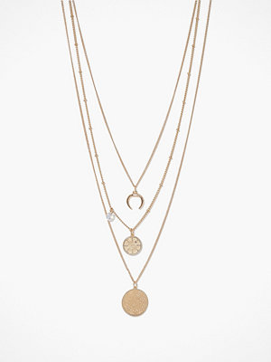 Only halsband Onlkira 3-Chain Necklace Acc