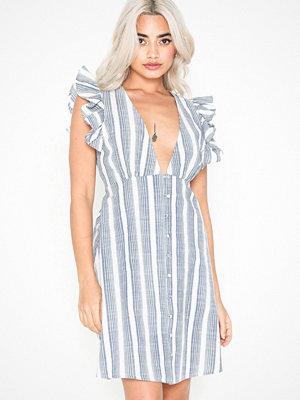 NLY Trend Stripe Frill Dress