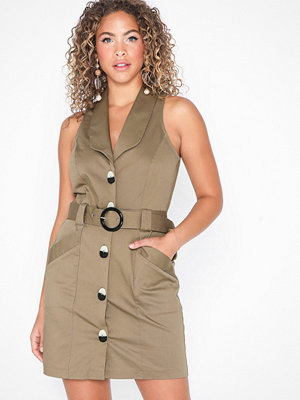 River Island Bordeaux Safari Dress