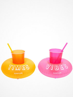 Strandplagg - Sunnylife Inflatable Party Malibu Drink Holder Set