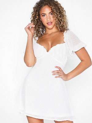 Missguided Dobby Offshoulder Mini Dress