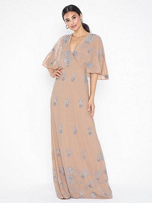 Maya Kimono Sleeve V Neck Maxi