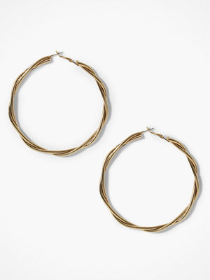 Missguided Jewelry örhängen Oversized Twisted Hoop