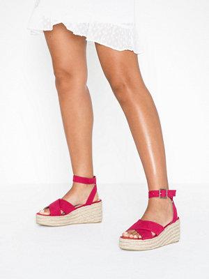 Sandaler & sandaletter - NLY Shoes Braided Platform Sandal