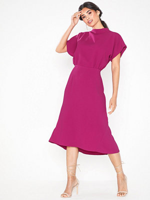 Closet Short Sleeve Midi Dress