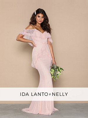 NLY Eve Elle Gown Dusty Pink
