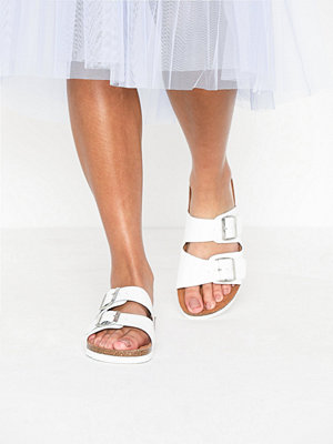 Tofflor - Vero Moda Vmnicoline Leather Sandal