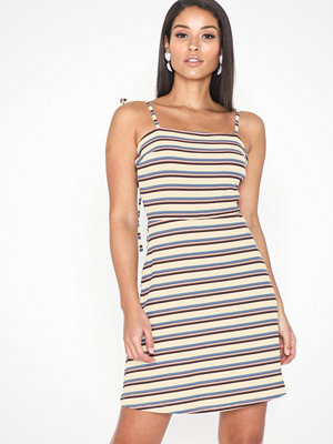 Glamorous Stripe Ribbed Dress