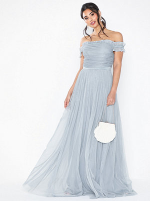 Anaya Ruffle Bardot Maxi Dress