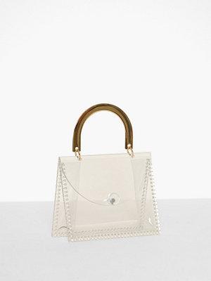 Handväskor - Topshop Glow Acrylic Mini Grab Bag