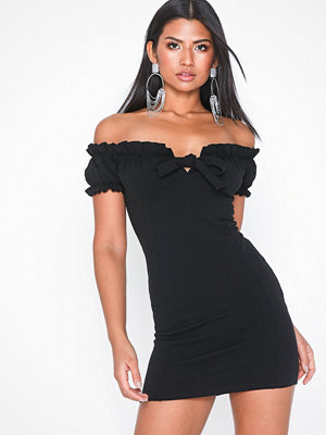Missguided Milkmaid Mini Dress