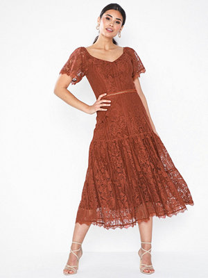 NLY Eve Crochet Flounce Dress