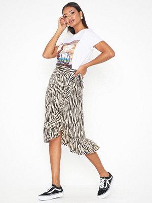 Neo Noir Mika Zebra Skirt