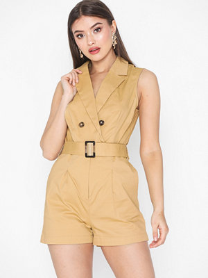 NLY Trend Safari Playsuit
