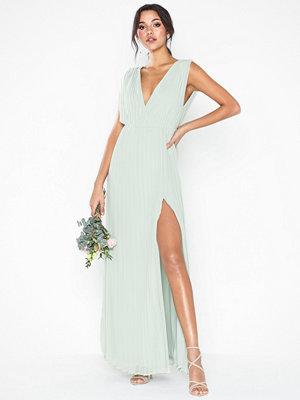 Festklänningar - NLY Eve Plisse Goddess Gown