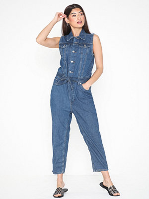 Jumpsuits & playsuits - Levi's Cropped Taper Jumpsuit Delicat