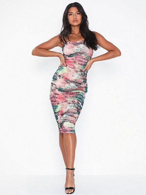 NLY Eve Printed Mesh Dress