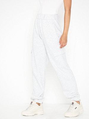 NLY Trend vita byxor Melange Cargo Pants