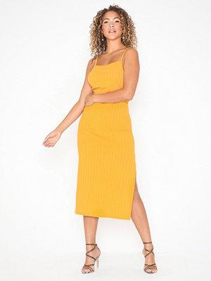 NLY Trend Rib Strap Midi Dress