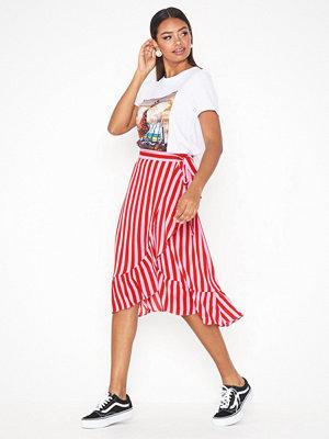 Neo Noir Mika Broad Stripe Skirt