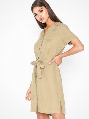 Pieces Pcwhy Ss Tie Belt Dress-Bi