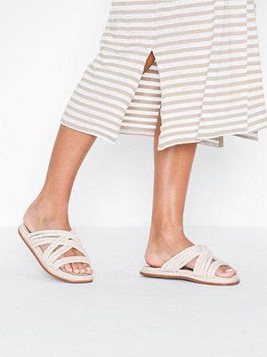 Sandaler & sandaletter - Vero Moda Vmrafa Sandal Ljus Grå