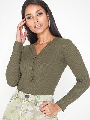 Jacqueline de Yong Jdybetty L/S Button Top Jrs Exp