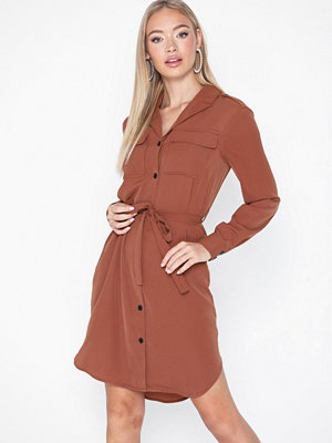 Vero Moda Vmselina L/S Short Shirt Dress Ki