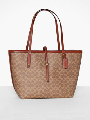 Coach Coated Canvas Signature Market Tote
