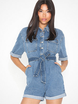 Topshop Button Romper