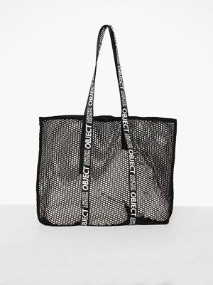 Handväskor - Object Collectors Item Objlusi Net Bag 103 Svart