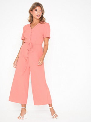 Jumpsuits & playsuits - Glamorous Short Sleeve Jumpsuit