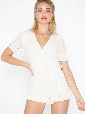 Jumpsuits & playsuits - Parisian Broderie Anglais Frilly Playsuit
