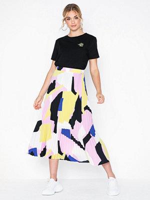 Selected Femme Slfandrea Mw Midi Plisse Skirt Ex