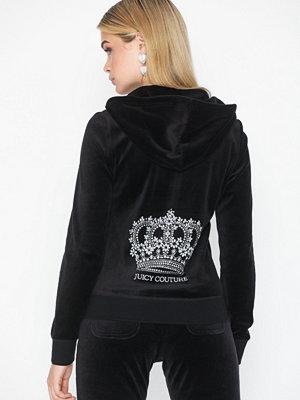 Street & luvtröjor - Juicy Couture Juicy Crown Velour Robertson Jacket