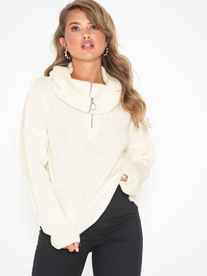 NLY Trend Zip Collar Knit