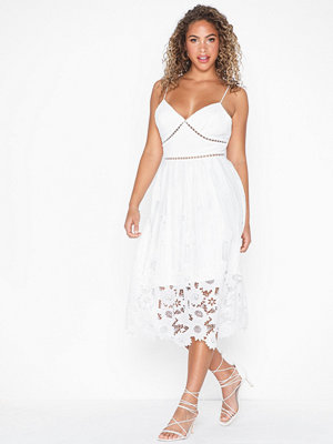 True Decadence Strappy Lace Embroidered Dress
