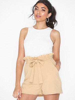 NLY Trend Frill Tie Shorts