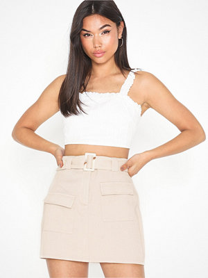 Missguided Belted Cargo Mini Skirt