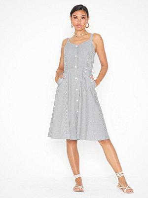 Calvin Klein Jeans Stripe Button Down Midi Dress