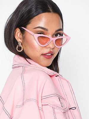Solglasögon - NLY Accessories Edgy Sunglasses Rosa